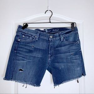 7 for all Mankind | Cut off Jean Shorts